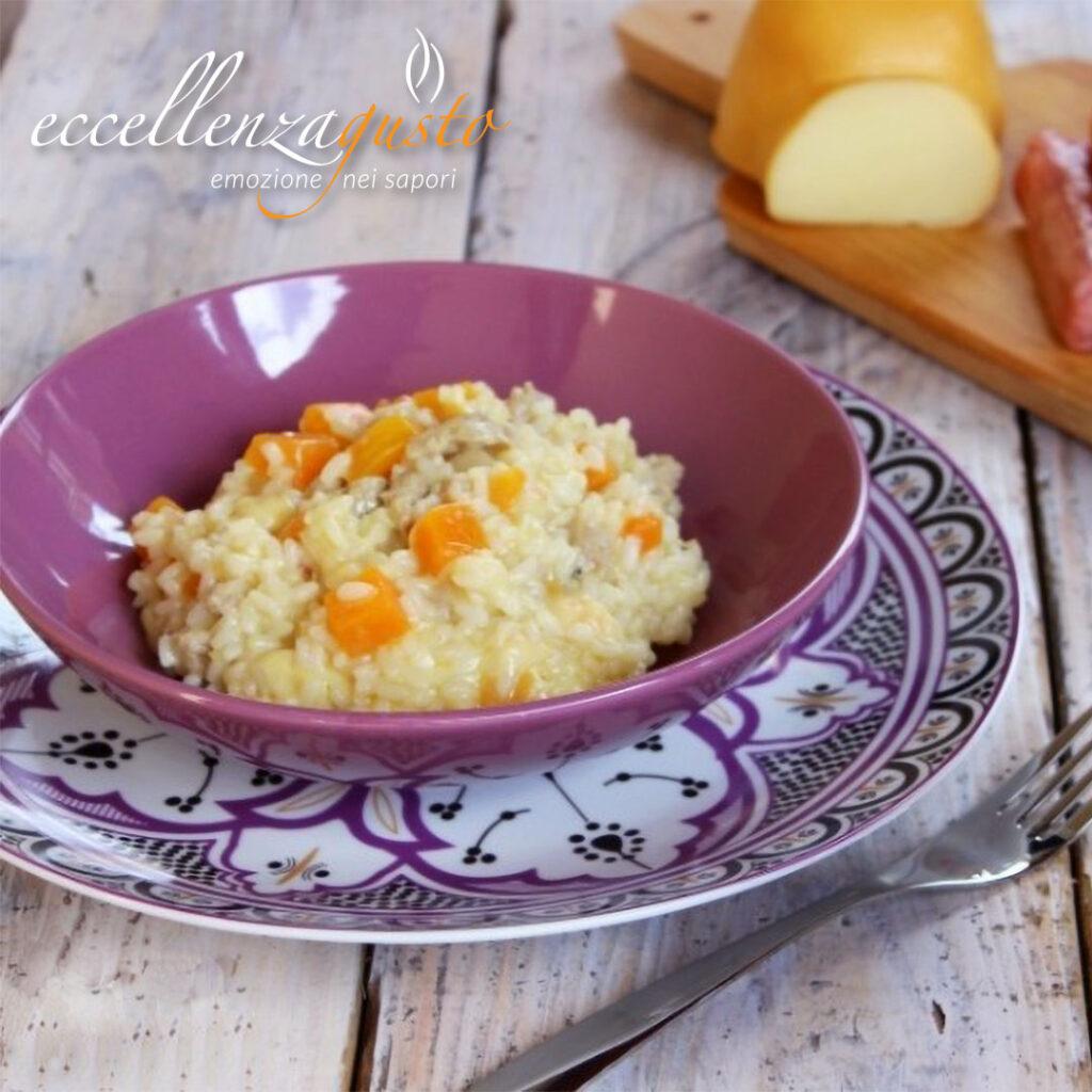 risotto zucca e salsiccia eccellenzagusto