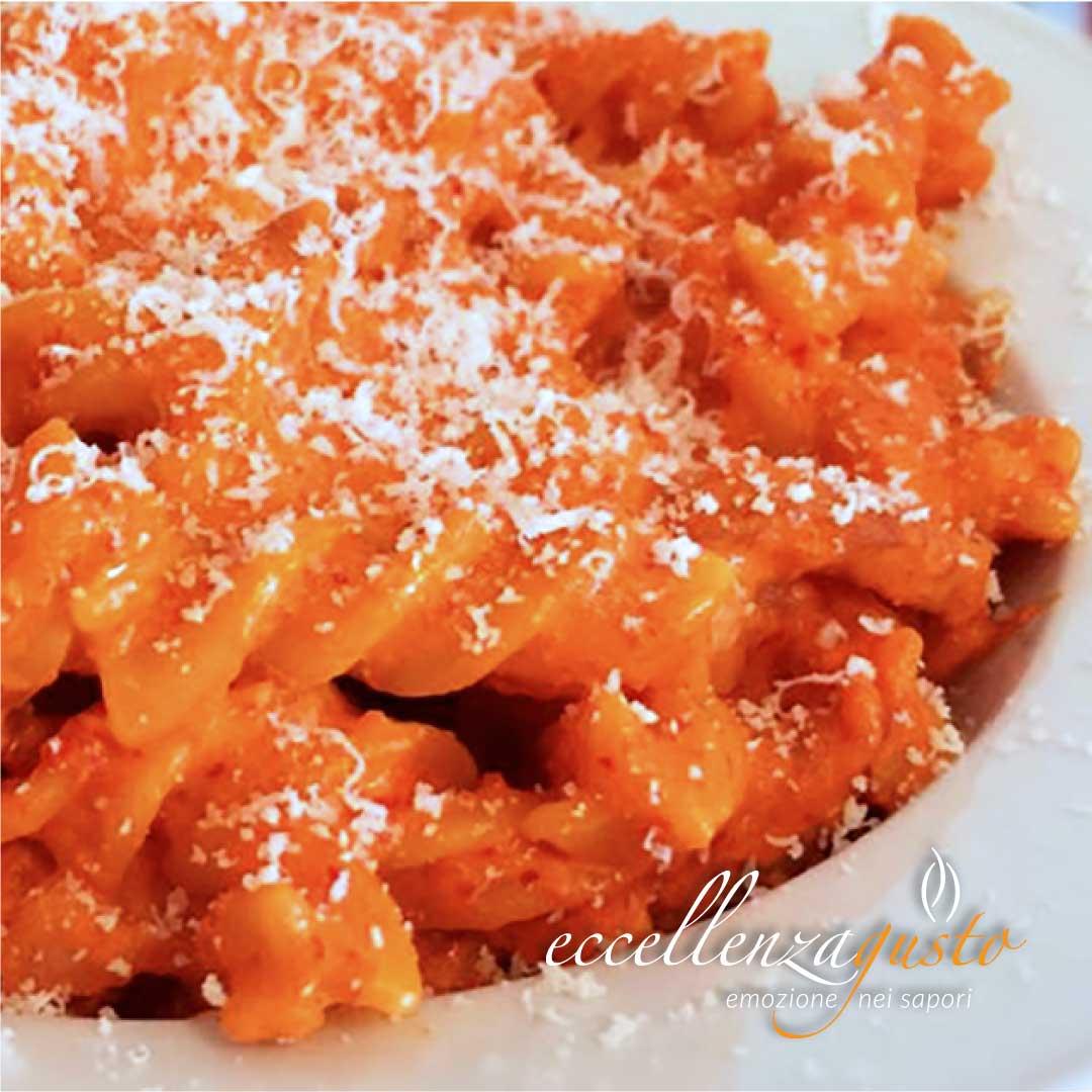crema di peperoni e pancetta affumicata eccellenzagusto