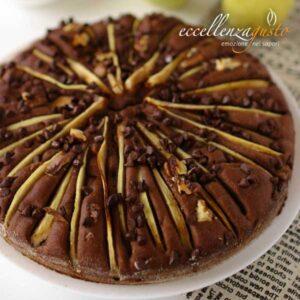torta di pere e gocce di cioccolato eccellenzagusto