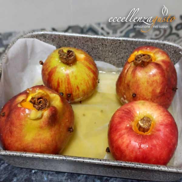 mela al forno con cannella eccellenzagusto